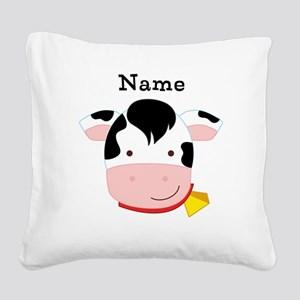 Personalized Cow Pillow