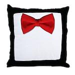 bowtie2 Throw Pillow