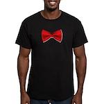 bowtie2 Men's Fitted T-Shirt (dark)