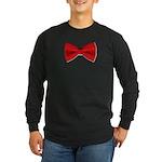 bowtie2 Long Sleeve Dark T-Shirt