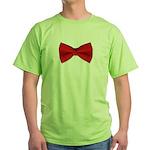 bowtie2 Green T-Shirt