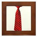 Long Tie Framed Tile