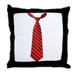 Long Tie Throw Pillow