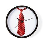Long Tie Wall Clock