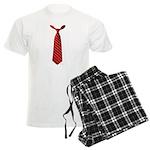 Long Tie Men's Light Pajamas