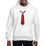 Long Tie Hooded Sweatshirt