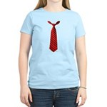 Long Tie Women's Light T-Shirt