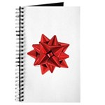 Gift Bow Red Journal