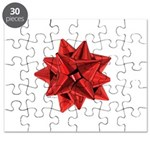 Gift Bow Red Puzzle