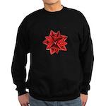 Gift Bow Red Sweatshirt (dark)