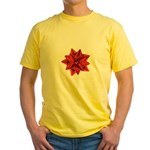 Gift Bow Red Yellow T-Shirt