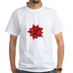 Gift Bow Red White T-Shirt