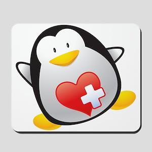 Penguin Nurse Mousepad