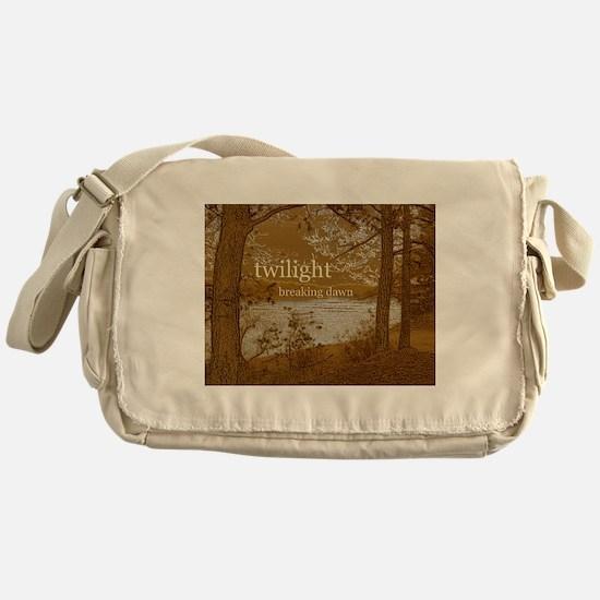 Twilight Breaking Dawn Messenger Bag