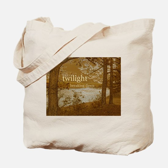 Twilight Breaking Dawn Tote Bag