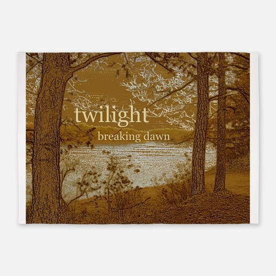 Twilight Breaking Dawn 5'x7'Area Rug