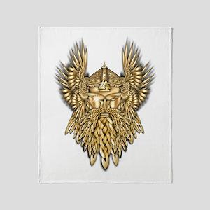 Odin - God of War Throw Blanket