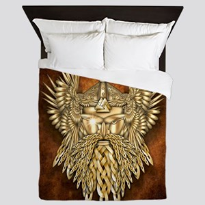 Odin - God of War Queen Duvet