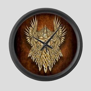 Odin - God of War Large Wall Clock