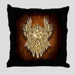 Odin - God of War Throw Pillow