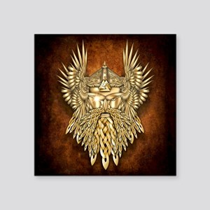 "Odin - God of War Square Sticker 3"" x 3"""