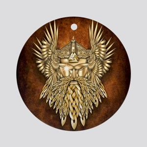 Odin - God of War Ornament (Round)
