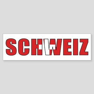Switzerland (German) Bumper Sticker