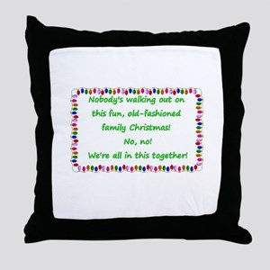 National Lampoon's Christmas Vacation quote Throw