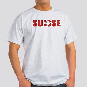 Switzerland (French) Ash Grey T-Shirt