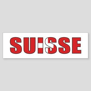 Switzerland (French) Bumper Sticker