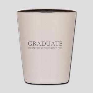 2-Graduate2 Shot Glass