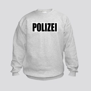 German Police Polizei Kids Sweatshirt