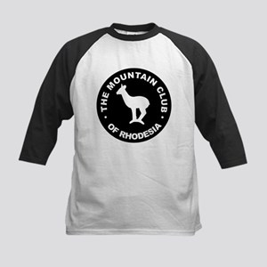 Rhodesian Mountain Club white on black Kids Baseba