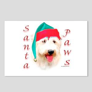 Santa Paws Glen of Imaal Postcards (Package of 8)