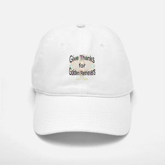 Thanks for Golden Baseball Baseball Cap