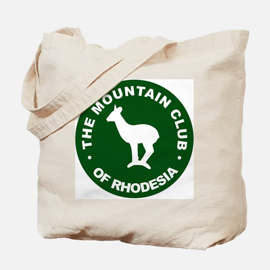 Rhodesian Mountain Club green Tote Bag