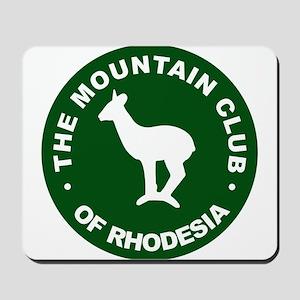 Rhodesian Mountain Club green Mousepad
