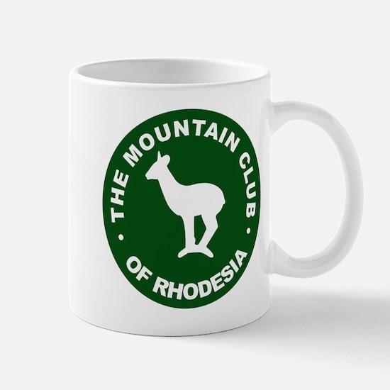 Rhodesian Mountain Club green Mug