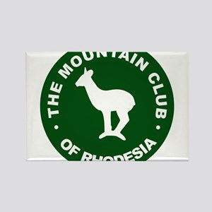 Rhodesian Mountain Club green Rectangle Magnet