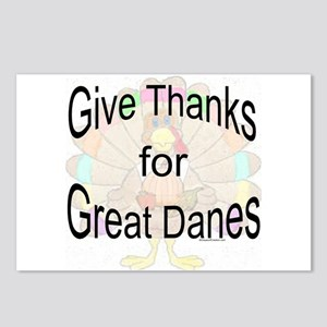 Thanks for Great Dane Postcards (Package of 8)