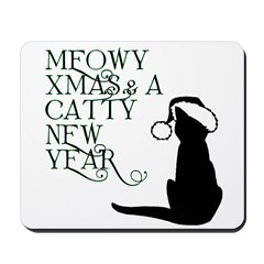 Meowy Christmas Mousepad