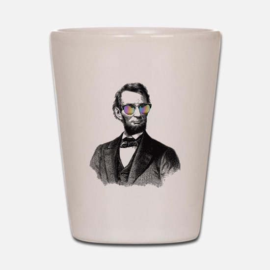 Cool Abe lincoln Shot Glass