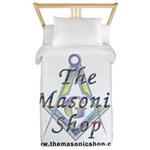 The Masonic Shop Logo Twin Duvet