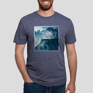 Striped Bass Wild Style lg Mens Tri-blend T-Shirt