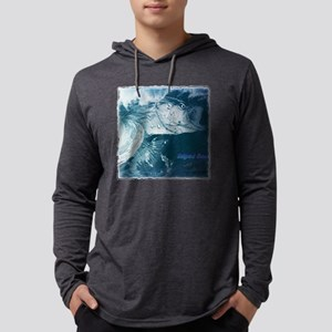 Striped Bass Wildstyle Mens Hooded Shirt