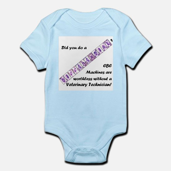 CBC Machines Are Worthless... Infant Bodysuit