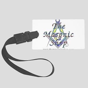 The Masonic Shop Logo Large Luggage Tag