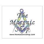 The Masonic Shop Logo Small Poster