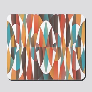 Colorful geometric abstract Mousepad