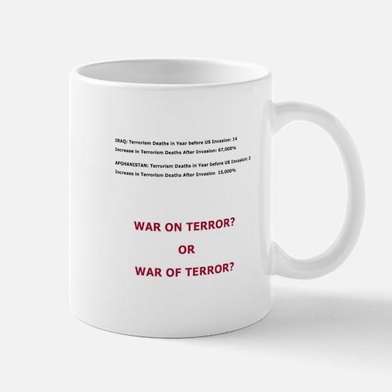 War on Terror or War of Terror? Mug